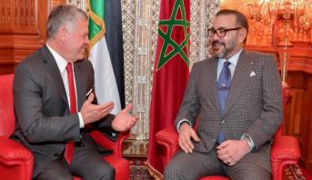 الملك عبد الله الثاني يعبر للملك محمد السادس عن رغبة المملكة الأردنية الهاشمية في فتح قنصلية عامة لها بمدينة العيون المغربية