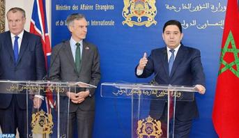 """الصحراء المغربية: بريطانيا تجدد دعمها الكامل للمسلسل الأممي ولجهود المغرب """"الجدية و ذات المصداقية"""""""