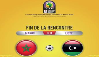 """""""الأسود"""" يستهلون مشوار بطولة افريقيا للفوتصال بفوز على منتخب ليبيا"""