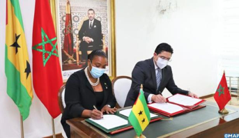 التوقيع على خارطة طريق للتعاون بين المغرب وجمهورية ساوتومي وبرنسيب للفترة 2021-2022