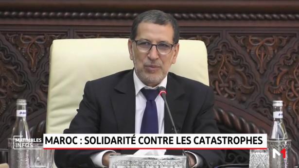 Maroc: solidarité contre les catastrophes
