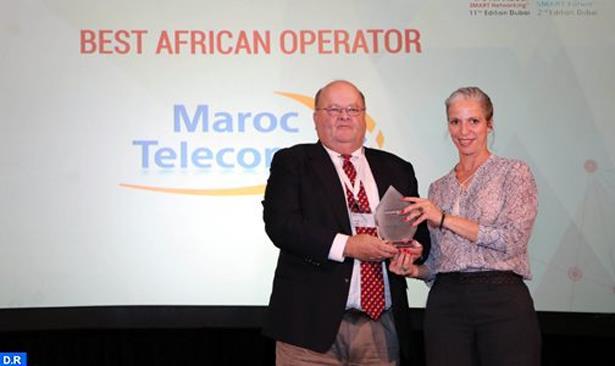 """""""اتصالات المغرب"""" تفوز بجائزة """"أفضل فاعل إفريقي"""" للسنة الثانية على التوالي"""