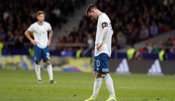 عودة ميسي لا تجنب الأرجنتين الهزيمة أمام فنزويلا