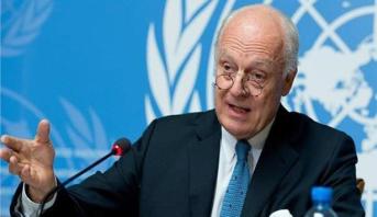 المبعوث الأممي إلى سوريا يعلن موعد تنحيه عن منصبه
