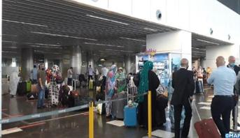 المغاربة العالقون بالخارج... وصول 109 مواطنين مغاربة عائدين من جزر الكاناري إلى مطار الحسن الأول بالعيون