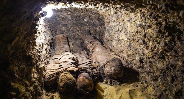 """مصر .. ضبط أجزاء مومياء في """"طرد بريد سريع"""""""