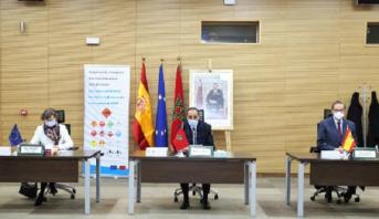 Maroc-Espagne: contrat de jumelage pour sécuriser le transport routier des marchandises dangereuses