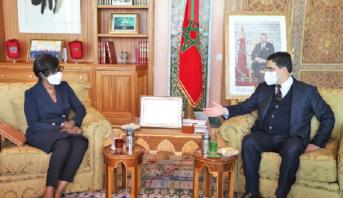 Le renforcement de la coopération bilatérale au centre d'entretiens de Bourita avec son homologue congolaise