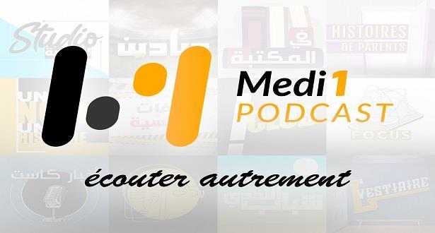 """Medi1 lance """"Medi1 Podcast"""""""