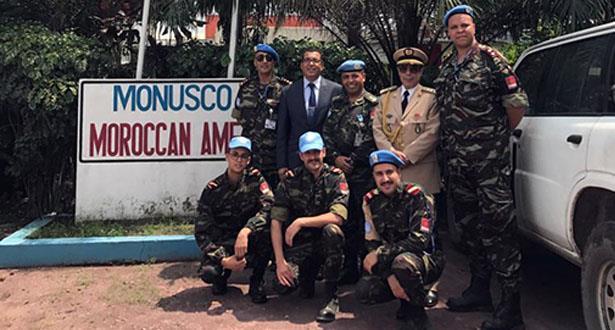 مونوسكو.. توشيح ضابطين مغربيين نظير الخدمات القيمة التي قدماها