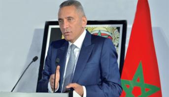 ندوة صحافية لمولاي حفيظ العلمي رئيس لجنة ترشيح المغرب لمونديال 2026
