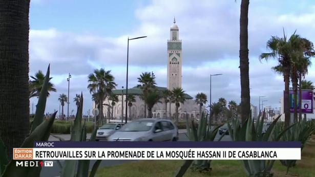 Casablanca: la promenade de la mosquée Hassan II reprend vie