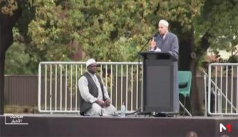 نيوزيلندا ترفع الآذان وتقف في صمت في أول جمعة بعد الهجوم الإرهابي بكرايست تشيرش