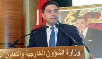 """بوريطة: الحكم الذاتي هو """"السبيل الوحيد"""" لتسوية النزاع الإقليمي حول الصحراء المغربية"""