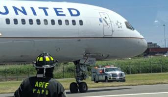 تعليق حركة الملاحة في مطار أمريكي إثر خروج طائرة عن المدرج
