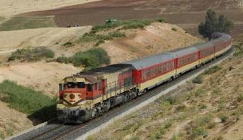 """ONCF"" تباشر أشغال تثنية السكة بمقطع بنكرير- سيدي بوعثمان"