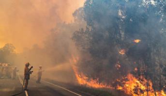 مكتب الأرصاد البريطاني: حرائق الغابات بأستراليا تسبب زيادة كبيرة في ثاني أكسيد الكربون