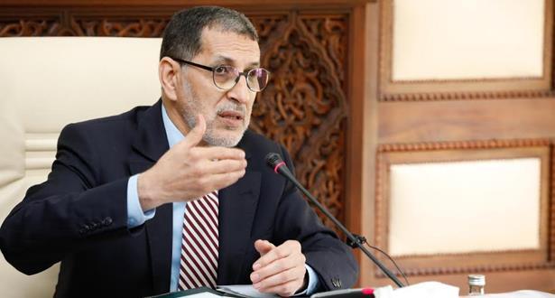 العثماني يؤكد حرص الحكومة على حماية المواطنين من انتشار فيروس كورونا