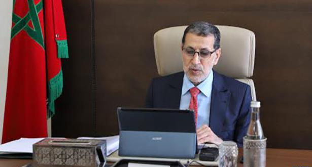 El Otmani: le gouvernement s'emploie à réaliser la relance économique en parallèle avec la lutte contre la Covid-19