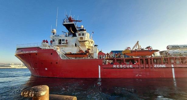 Le navire Ocean Viking a secouru 129 migrants en Méditerranée durant le week-end