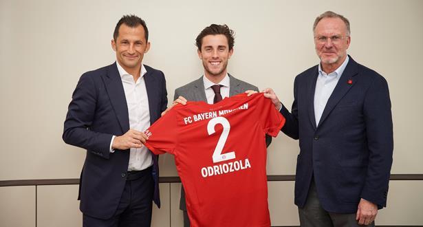 أودريوسولا ينتقل إلى صفوف بايرن ميونيخ على سبيل الإعارة