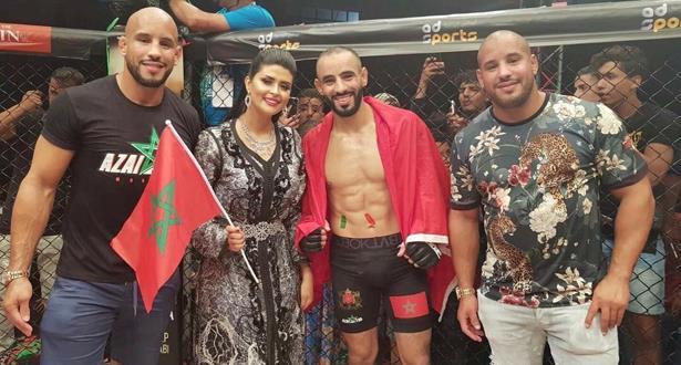 البطل المغربي عثمان زعيتر يتألق ويفوز على الصربي كوكورا في أمسية فنون القتال المختلطة بطنجة