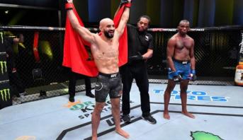 MMA: Ottman Azaitar met KO son adversaire Khama Worthy, et enchaîne une troisième victoire