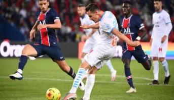 Ligue 1: l'OM rompt la malédiction face au PSG (1-0)