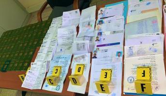 Marrakech : Arrestation de trois individus soupçonnés de faux et usage de faux