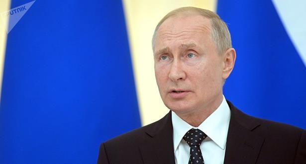 بوتين : العلاقات روسيا الأمريكية متدهورة وتنتقل من سيء إلى أسوأ