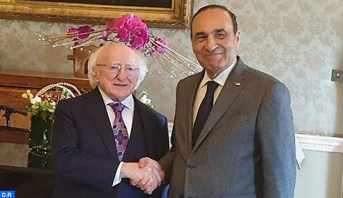 الرئيس الإيرلندي يعرب عن دعمه للمسلسل الأممي لتسوية ملف الصحراء المغربية