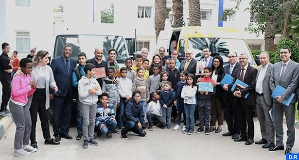 La Princesse Lalla Zineb reçoit Marc Nassif à Rabat