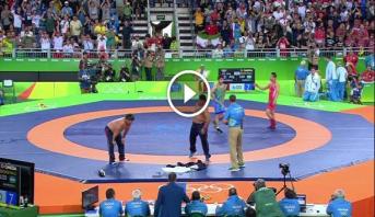 فيديو .. نهاية الألعاب الأولمبية ريو 2016 على إيقاع احتجاج بطريقة خاصة
