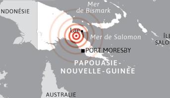 زلزال بقوة 7,2 درجات قبالة سواحل بابوازيا-غينيا الجديدة