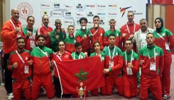 المنتخب المغربي للباراتايكواندو يحرز خمس ميداليات في بطولة العالم