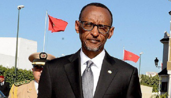 Arrivée au Maroc du président Rwandais Paul Kagame