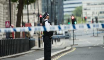 Londres: un homme attaqué au couteau devant le ministère de l'Intérieur