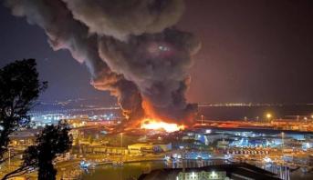 Italie: un violent incendie ravage le port d'Ancône