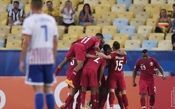 """منتخب قطر يحرج باراغواي في أول ظهور بـ """"كوبا أمريكا"""""""