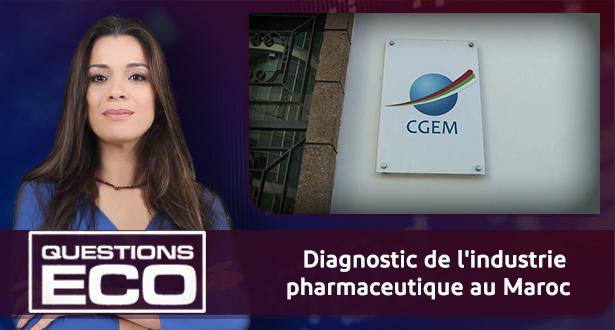 Questions ÉCO > Diagnostic de l'industrie pharmaceutique au Maroc
