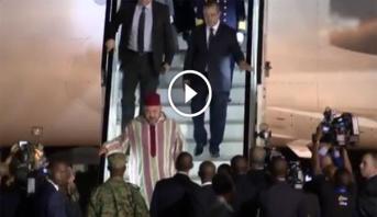 فيديو .. وصول الملك محمد السادس إلى رواندا واستقبال رسمي من طرف الرئيس كاغامي
