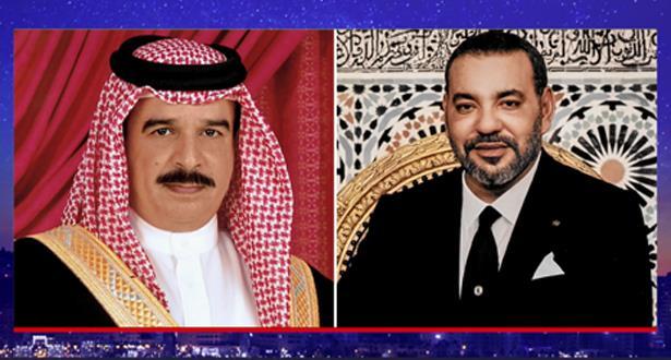 Appel téléphonique entre le Roi Mohammed VI et le Roi du Bahreïn
