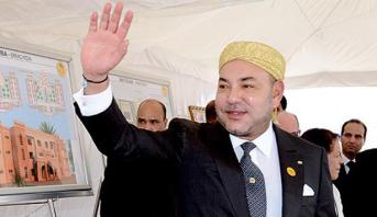 """إقليم وادي الذهب.. الملك محمد السادس يدشن مزرعة لصغار الصدفيات """"أزورا أكواكولتور"""""""