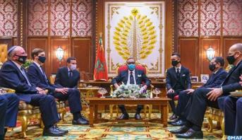 Le Roi Mohammed VI reçoit une délégation américano-israélienne de haut niveau