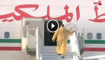Vidéo: Départ du Roi Mohammed VI à destination du Rwanda