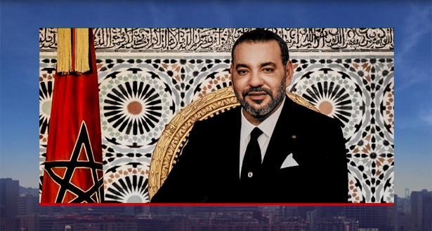 الملك محمد السادس يعرب عن متمنياته بالشفاء العاجل للرئيس الفرنسي