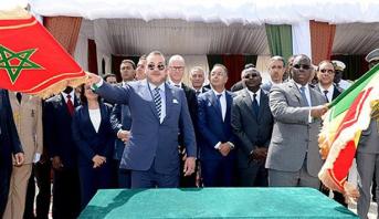 الملك محمد السادس يسلم هبة عبارة عن أدوية للمجلس الوطني السينغالي لمكافحة داء السيدا