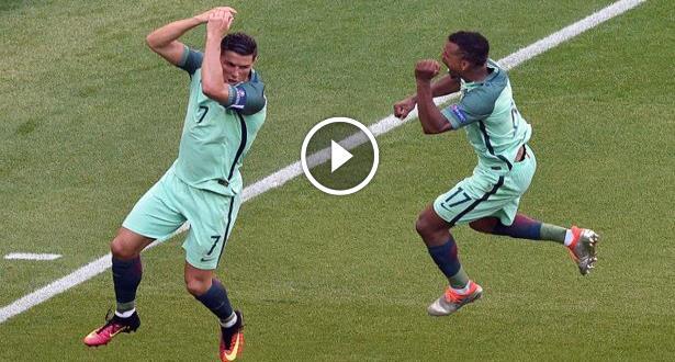 فيديو .. رونالدو يسجل هدفا مذهلا بالكعب في مرمى هنغاريا