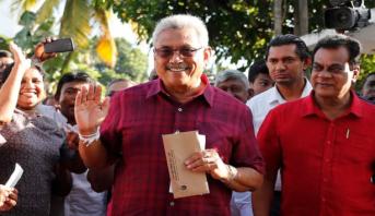 Sri Lanka: Rajapaksa élu président