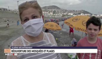 Coronavirus: Réouverture des mosquées et plages en Algérie